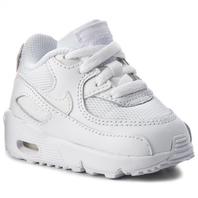 Shoes NIKE Air Max 90 Mesh (TD) 833422 100 WhiteWhite