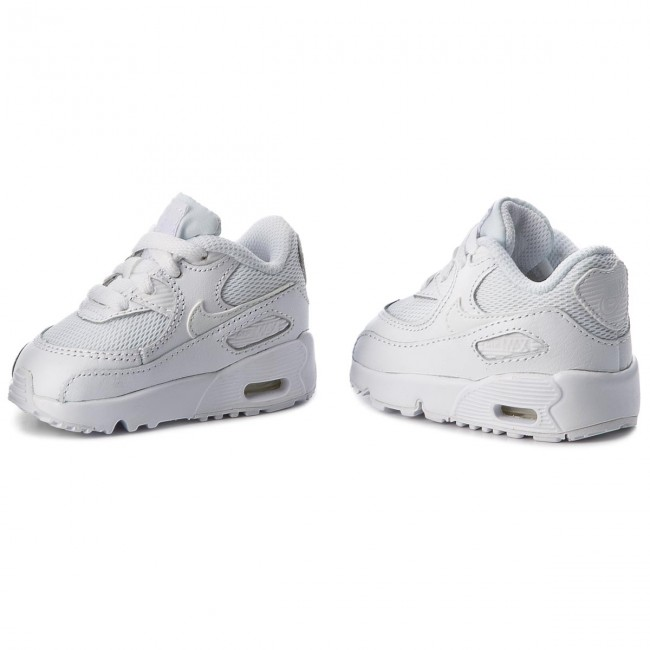 Shoes NIKE Air Max 90 Mesh (TD) 833422 100 WhiteWhite