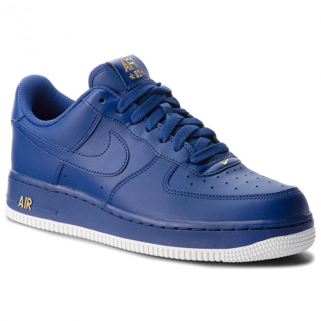 Shoes NIKE Air Force 1 '07 AA4083 402 Deep Royal Blue