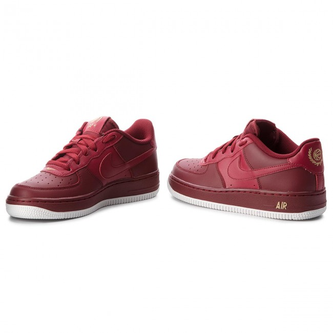 Shoes NIKE Air Force 1 (Gs) 314192 613 Team RedTeam RedSummit White