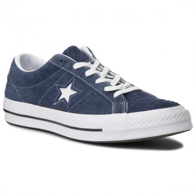 2converse one star navy