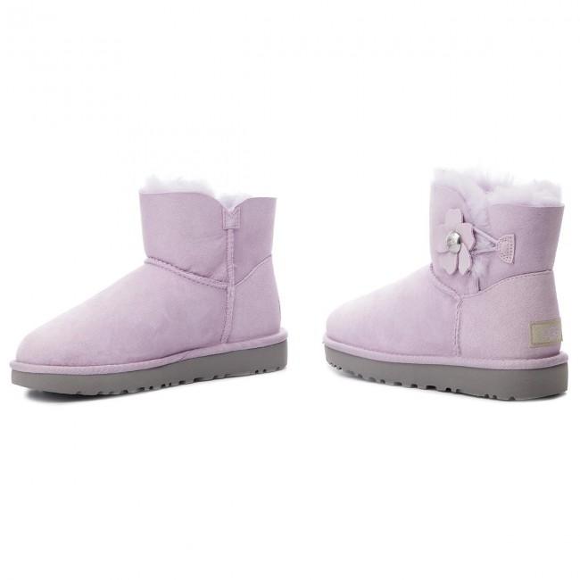 dcc1dc167bc Shoes UGG - W Mini Bailey Button Poppy 1092295 W/Lrfg