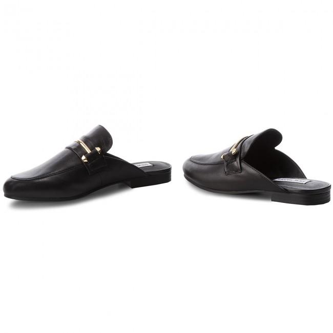 7ca06b099b0 Slides STEVE MADDEN - Kera Flat SM11000029 Black Leather