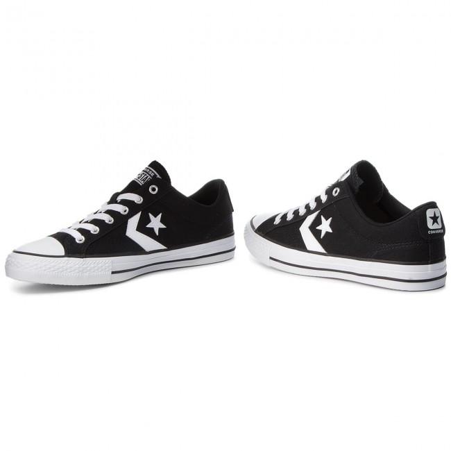 Sneakers CONVERSE Star Player Ox 161595C BlackWhiteWhite