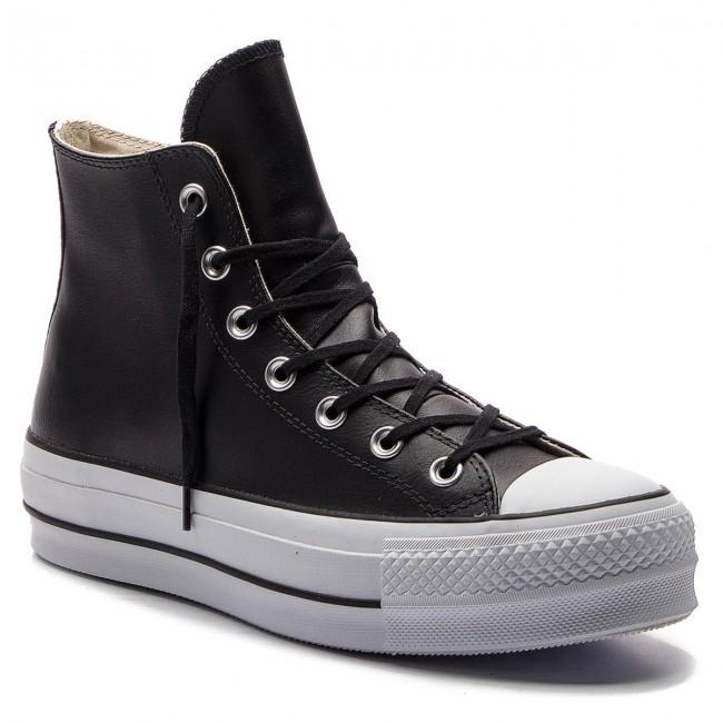 converse ctas hi lift leather