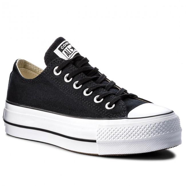 Sneakers CONVERSE - Ctas Lift Ox 560250C Black/White/White