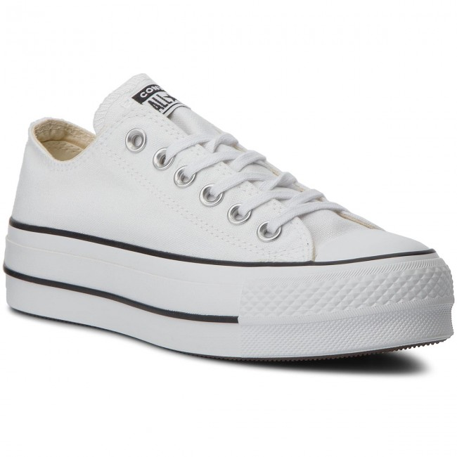 Sneakers CONVERSE - Ctas Lift Ox 560251C White/Black/White