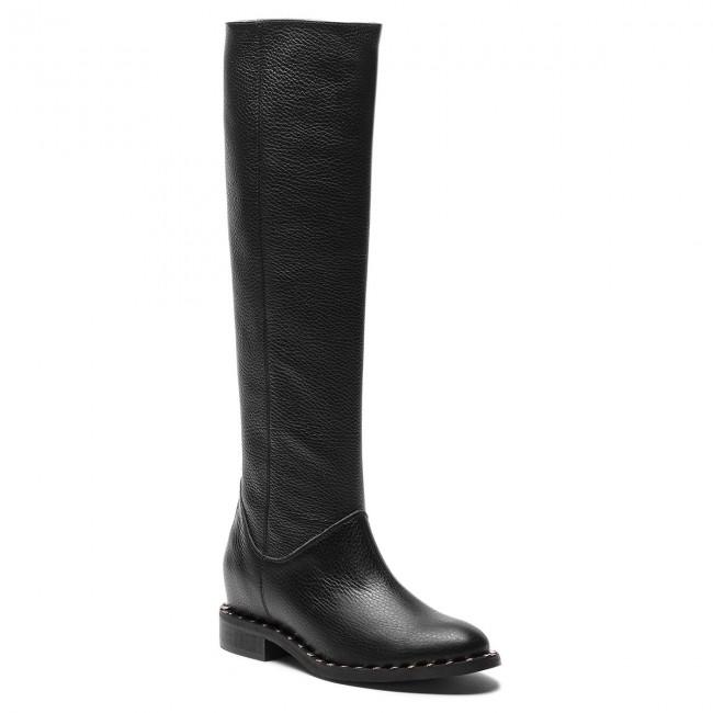 Knee High Boots L37 - High End Up Jet  SS11 Black