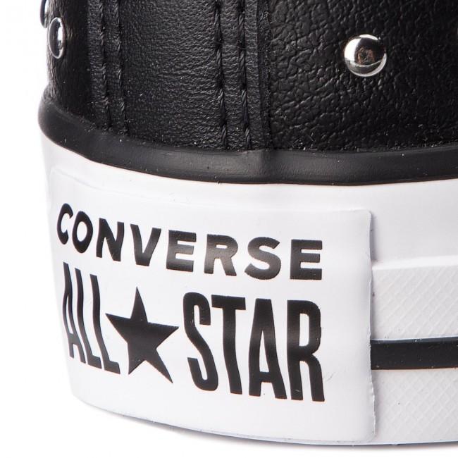 Sneakers CONVERSE Ctas Ox 561685C BlackBlackSilver