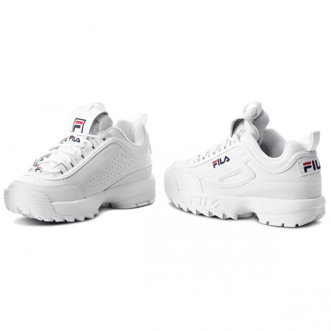 Sneakers FILA Disruptor Wmn Low 1010302.1FG White