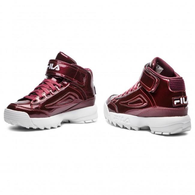 Sneakers FILA D2 M Disruptor Mid Wmn 1010446.40K Marsala