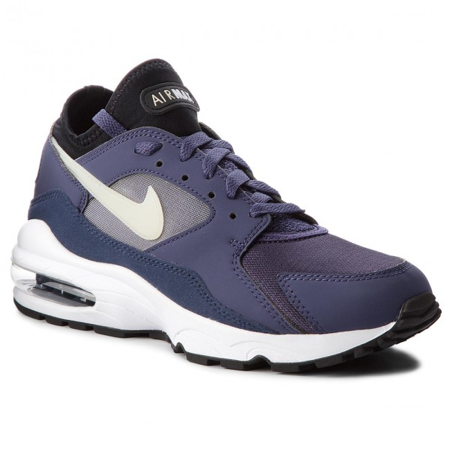 Nike Air Max 93 Purple Men New Neutral Indigo Lifestyle Sneakers 306551-500