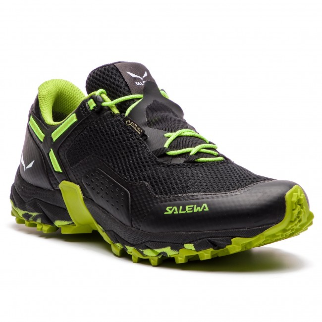 Mens Salewa Ms Speed Beat Gtx Hiking Shoes Black Out