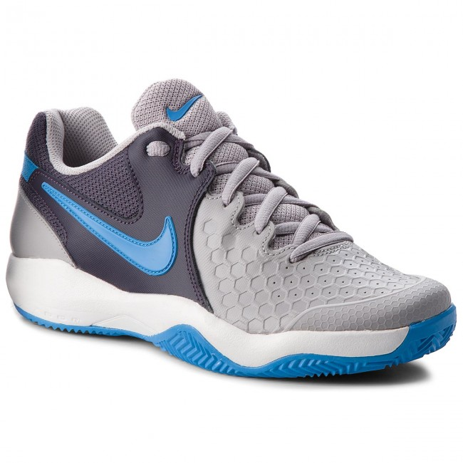 Conceder Convocar Trascendencia  Shoes NIKE - Air Zoom Resistance Cly 922064 049 Atmosphere Grey/Photo Blue  - Tennis - Sports shoes - Men's shoes | efootwear.eu