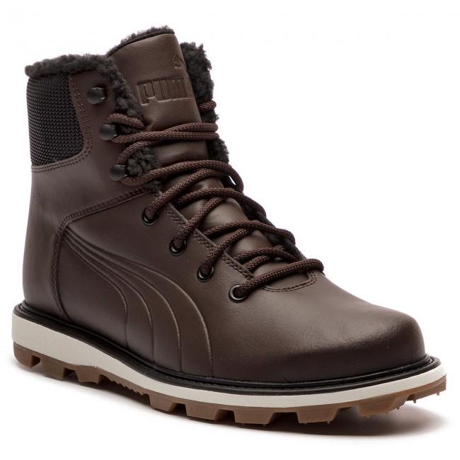 herren Veröffentlichungsdatum: klassischer Chic Knee High Boots PUMA - Desierto Fun L 364300 02 Chocolate Brown/Chocol Brown
