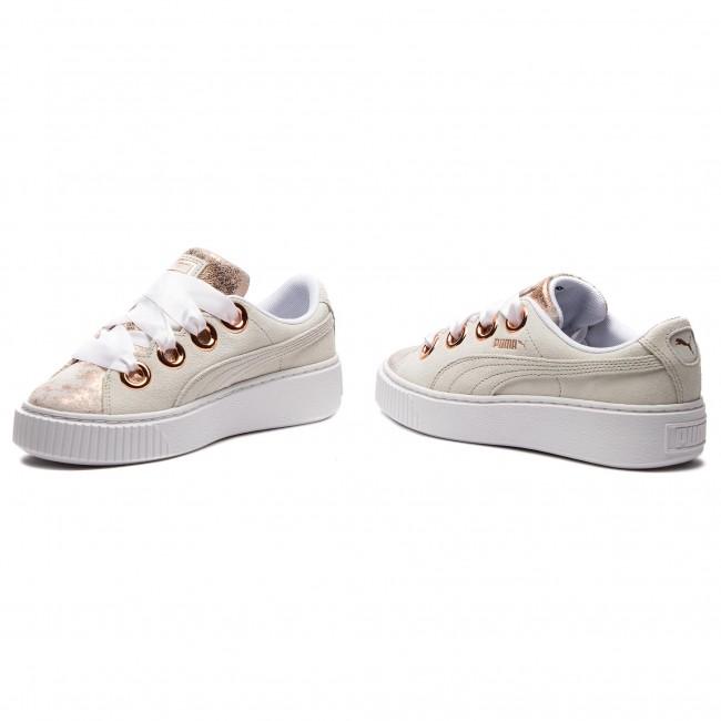 Sneakers PUMA Platform Kiss Artica Wn's 366707 01 Puma WhitePuma White