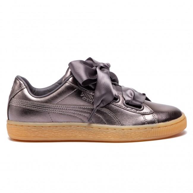 Sneakers PUMA Basket Heart Luxe Wn's 366730 01 Quiet ShadeQuiet Shade