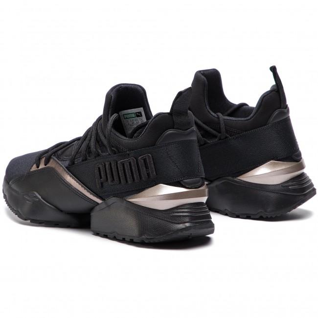 Sneakers PUMA Muse Maia Luxe Wn's 366766 01 Puma BlackPuma Black