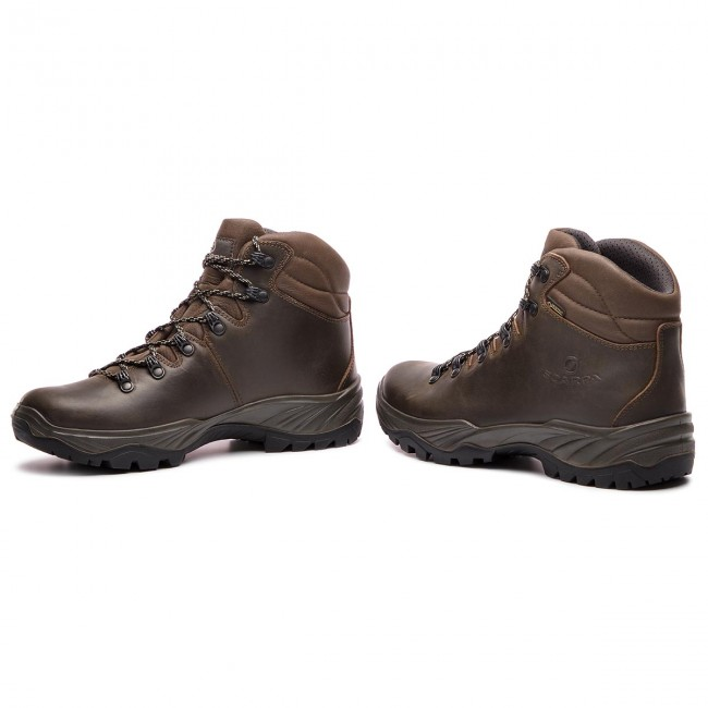 look good shoes sale hot sale online check out Trekker Boots SCARPA - Terra Gtx GORE-TEX 30020-200 Brown ...