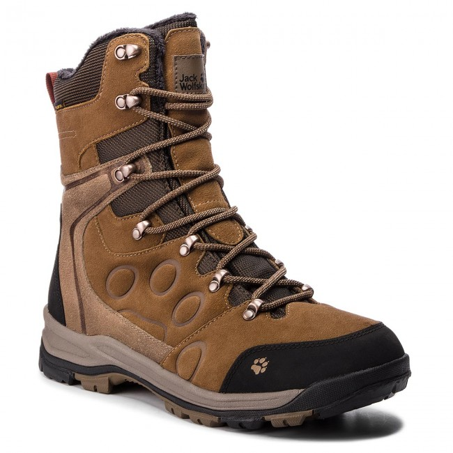 Snow Boots JACK WOLFSKIN Glacier Bay Texapore High M 4020481 Earth Brown