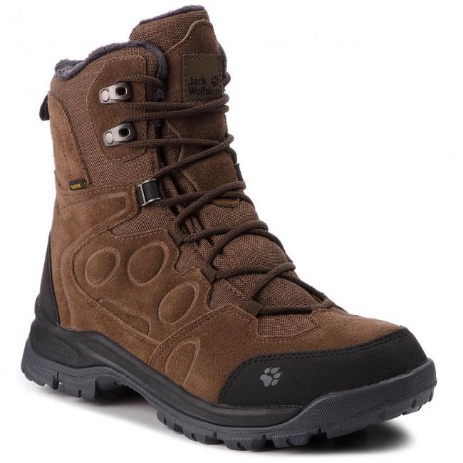 Trekkingi Jack Wolfskin Thunder Bay Texapore High M 4020491 Dark Wood Trekker Boots High Boots And Others Men S Shoes Efootwear Eu