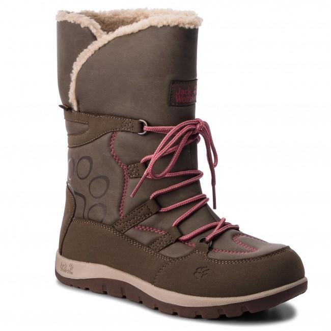 sports shoes 08150 1ee37 Snow Boots JACK WOLFSKIN - Rhode Island Texapore High G 4016762 Siltstone