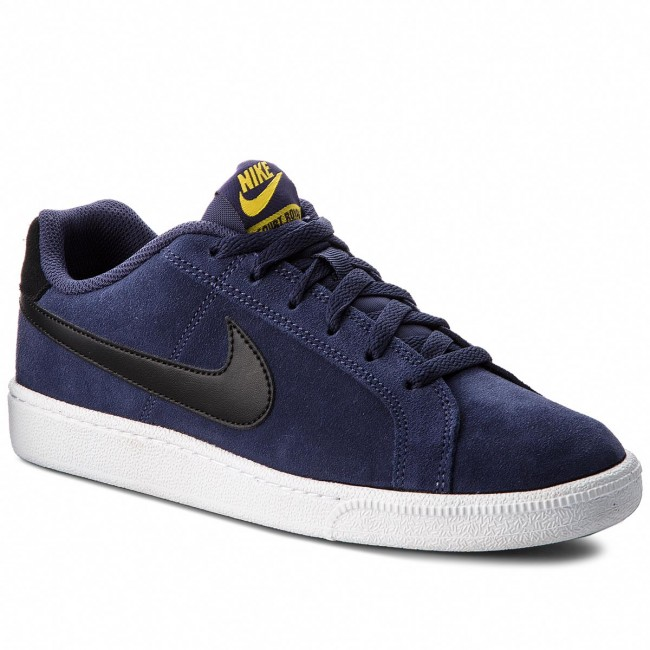 Senador infancia depositar  Shoes NIKE - Court Royale Suede 819802 500 Neutral Indigo/Black - Sneakers  - Low shoes - Men's shoes | efootwear.eu