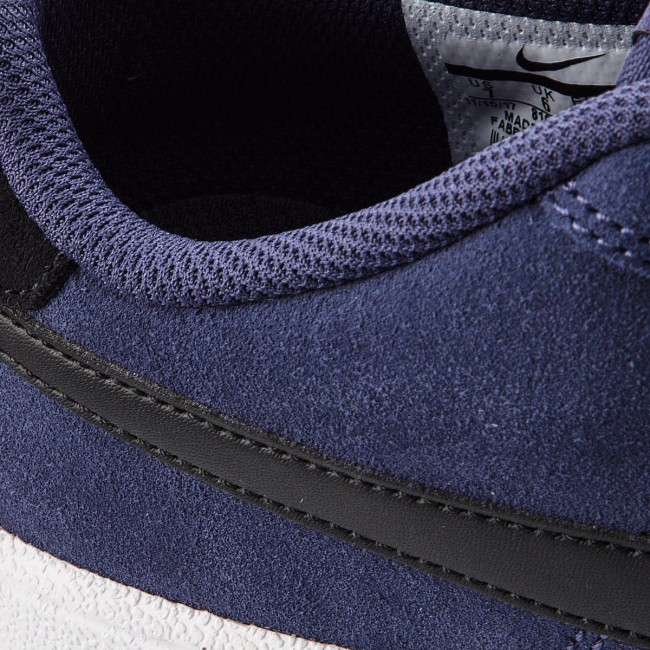 NIKE COURT ROYAL Suede Shoes Retro Sneaker Navy White 819802