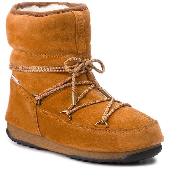 Snow Boots MOON BOOT - Low Suede Wp