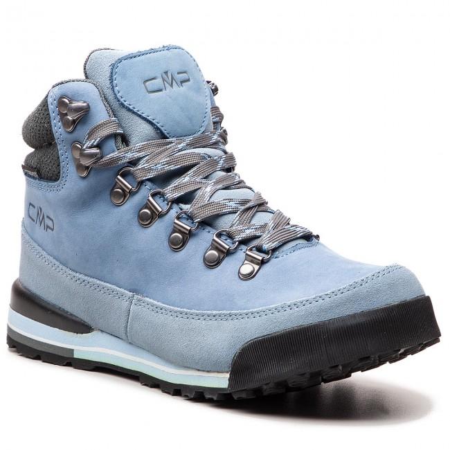 Trekker Boots CMP Heka Wmn Hiking Shoes WP 3Q49556 Azurro