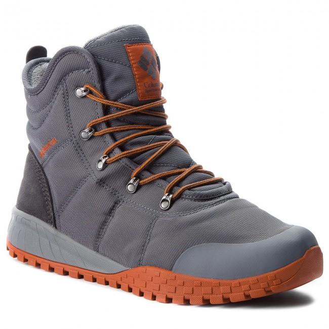 Trekker Boots COLUMBIA Fairbanks Omni Heat BM2806 GraphiteDark Adobe 053