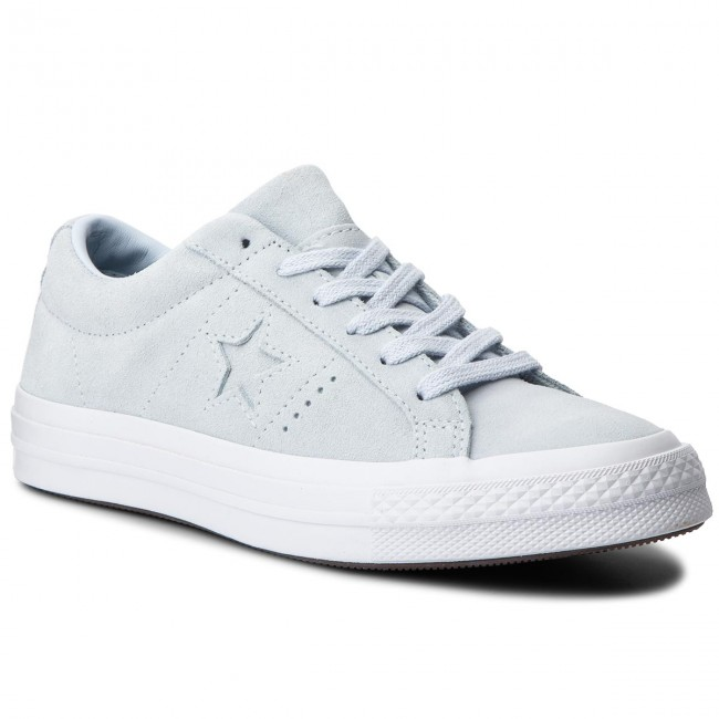 Pase para saber Completamente seco Anfibio  Plimsolls CONVERSE - One Star Ox 158487C Blue Tint/Blue Tint/White -  Sneakers - Low shoes - Women's shoes   efootwear.eu