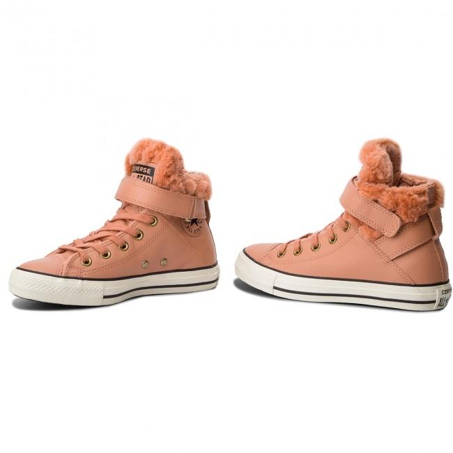 Ctas Brea Leath 553397C Pink Blush/Blac