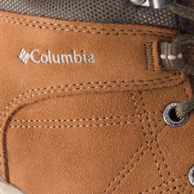 d1ea8032846 Trekker Boots COLUMBIA - Fire Venture Mid Suede Waterproof BL1717  Elk/Ancient Fossil 286