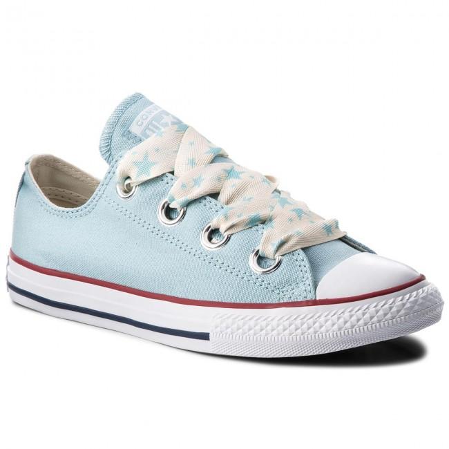 0cbe7819b273a Sneakers CONVERSE - Ctas Big Eyelet Ox 660727C Ocean Bliss/Driftwood/White