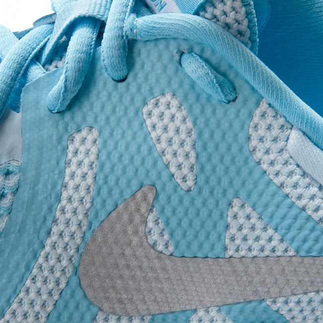 Shoes NIKE Revolution 4 (GS) 943306 402 Cobalt TintMetallic Silver