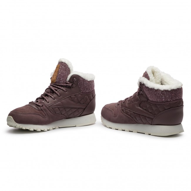 Reebok Classic Leather Arctic BootAlmost Grey Chalk Camel