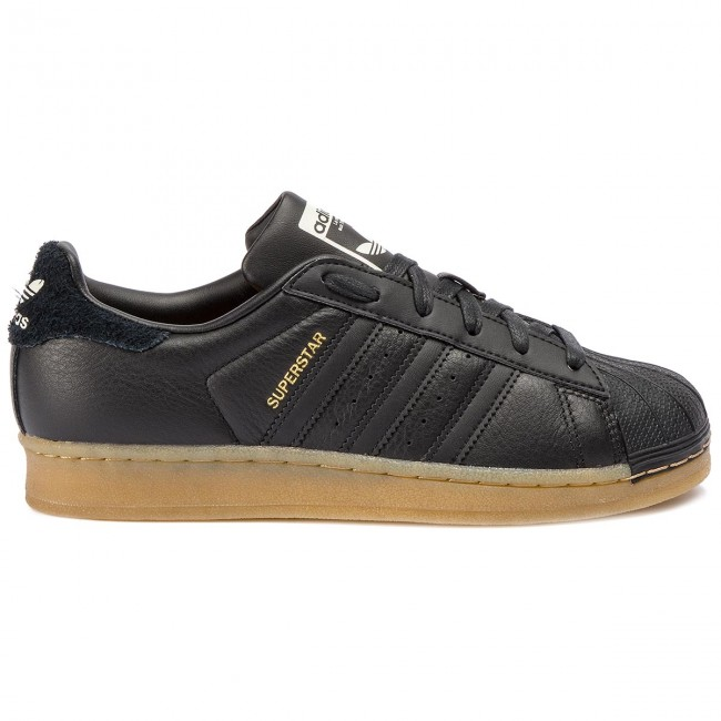 adidas Originals Superstar W CBLACKCBLACKGUM4 Sneakers