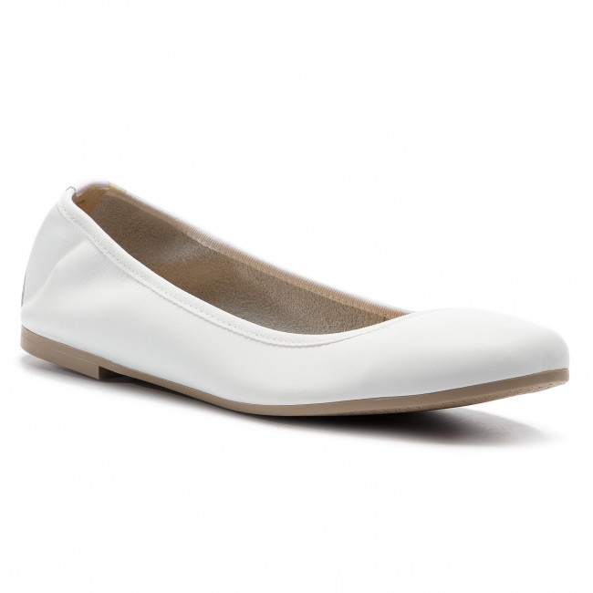 Flats TAMARIS 1 22128 22 White Leather 117
