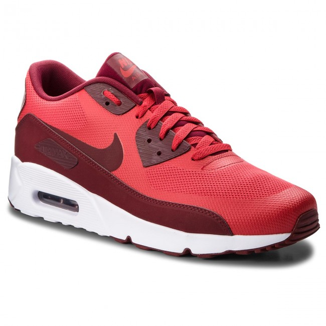 Nike Air Max 90 Ultra 2.0 Essential Red White Men Running Shoes 875695 600