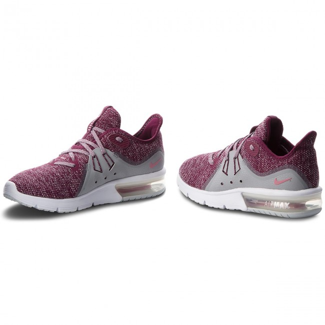 new styles best website offer discounts Shoes NIKE - Air Max Sequent 3 908993 606 Bordeaux/Elemental Pink ...