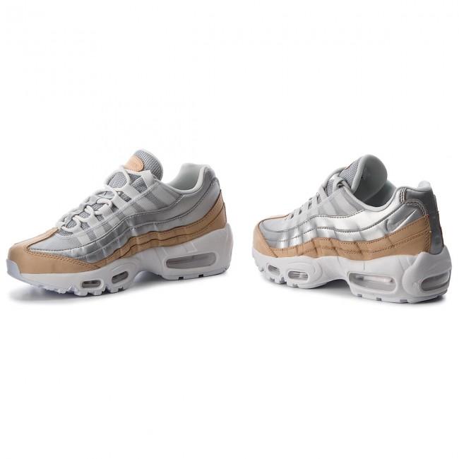 Darmowa dostawa tani największa zniżka Shoes NIKE - Air Max 95 Se Prm AH8697 002 Pure Platinum/Metallic Silver