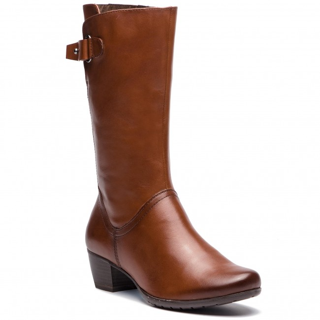 Knee High Boots MARCO TOZZI 2 25519 21 Cognac Antic 310