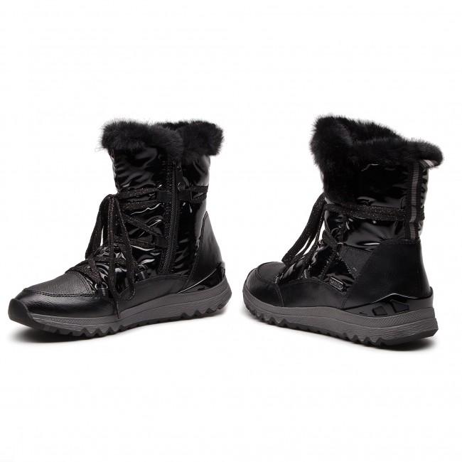 Snow Boots MARCO TOZZI 2 26831 21 Black Ant.Comb 096