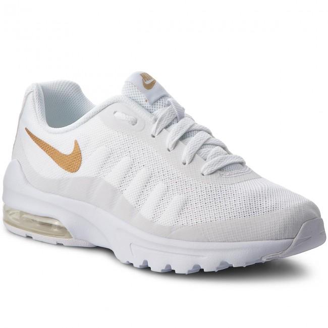 Shoes NIKE - Air Max Invigor (GS) 749572 100 White/Metallic Gold