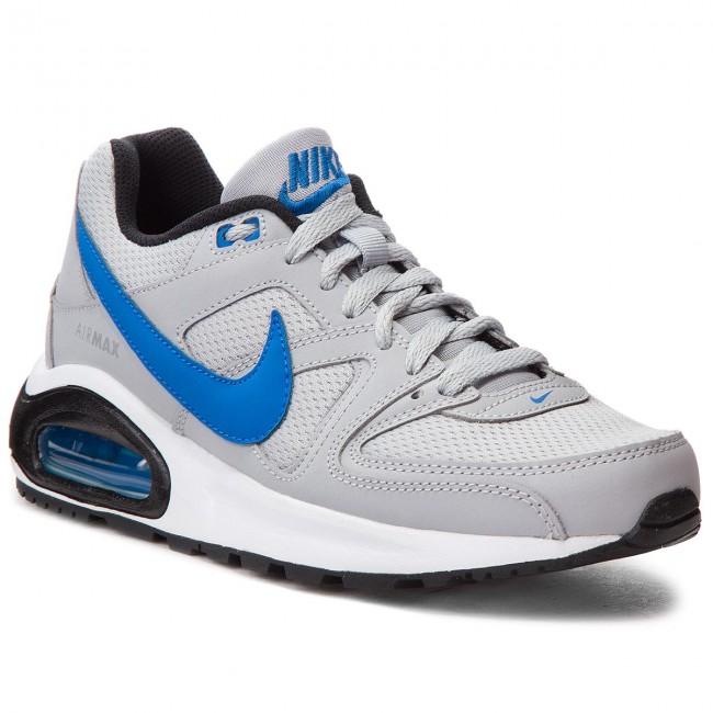 Shoes NIKE Air Max Command Flex (GS) 844346 007 Wolf GreySignal BlueBlack