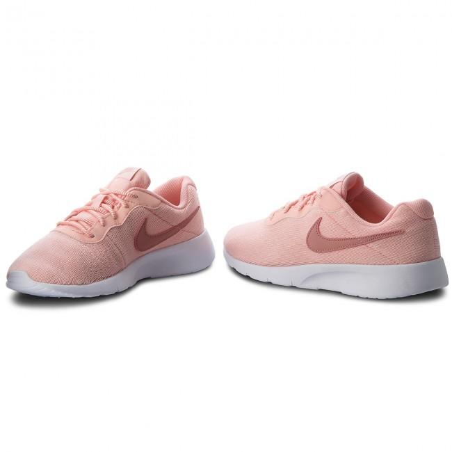 Shoes NIKE Tanjun Se (GS) 859617 603 Storm PinkRust PinkWhite