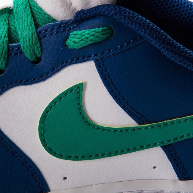 Shoes NIKE Air Force 1 (GS) 596728 407 Gym BlueNeptune GreenWhite