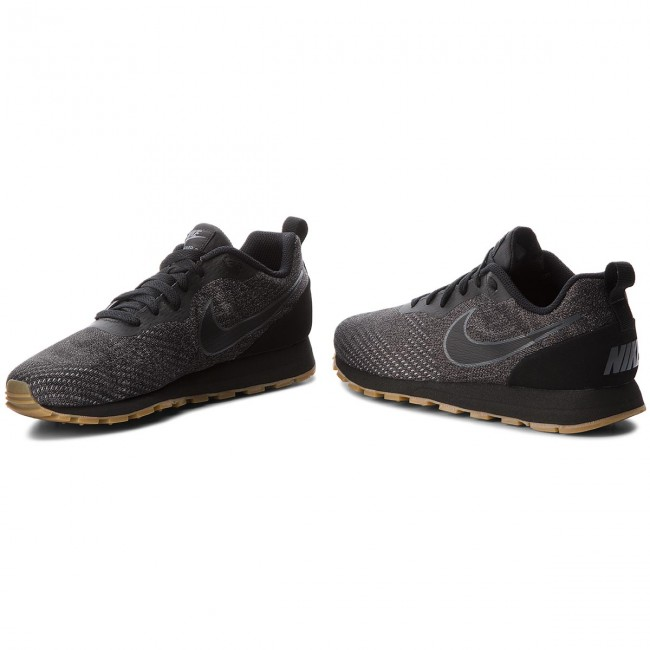 Shoes NIKE Md Runner 2 Eng Mesh 916774 010 BlackBlackDark Grey