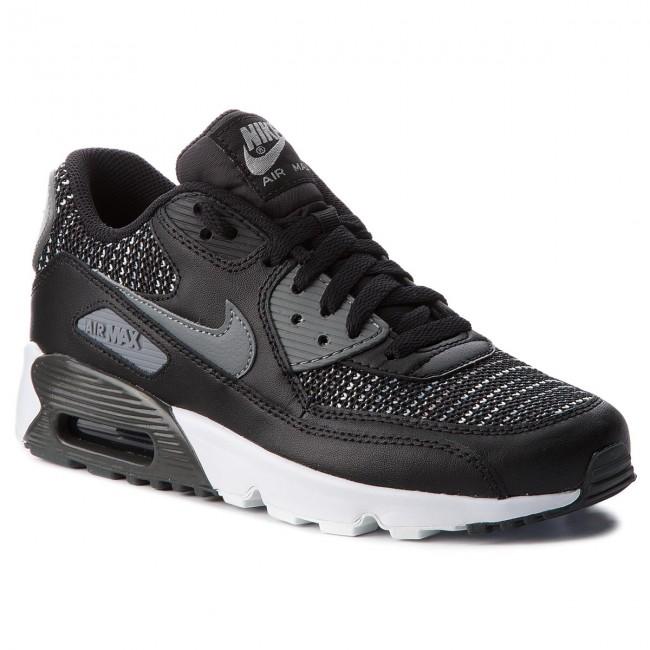 Shoes NIKE Air Max 90 Mesh Se (GS) AA0570 002 BlackCool GreyAnthracite